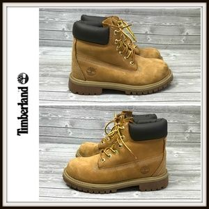 Timberland Classic Work Boys Wheat Boots